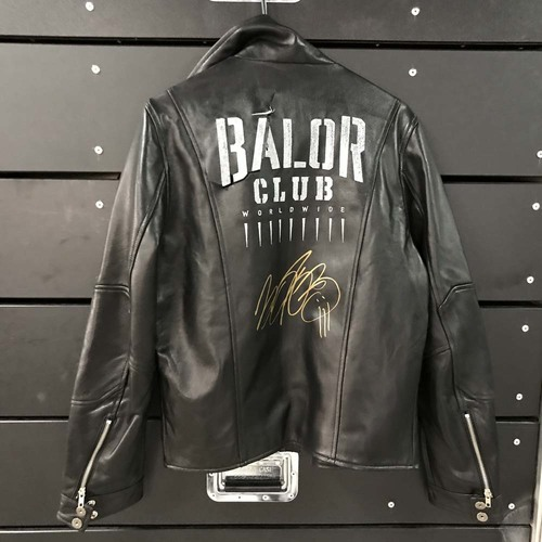 Photo of Finn Bálor WORN & SIGNED Jacket
