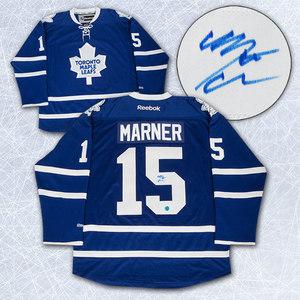 Mitch Marner Toronto Maple Leafs Autographed 2015 NHL Draft Day Reebok Jersey