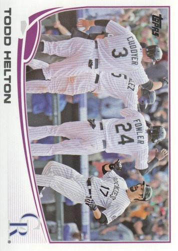 Photo of 2013 Topps #532 Todd Helton