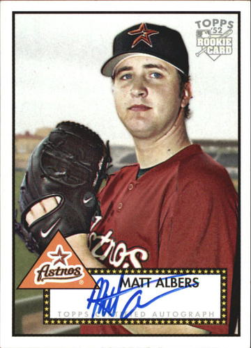 Photo of 2006 Topps 52 Signatures #MA Matt Albers I