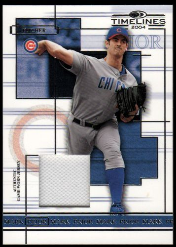 Photo of 2004 Donruss Timelines Material #33 Mark Prior Jsy