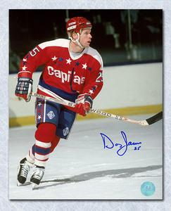Doug Jarvis Washington Capitals Autographed 8x10 Photo