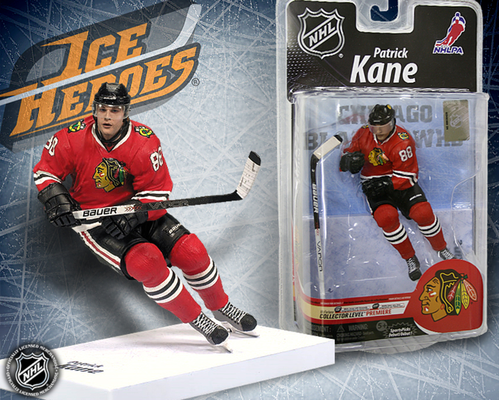 PATRICK KANE McFarlane Series 25 Action Figure - MIB - Chicago Blackhawks