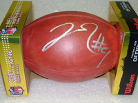 NFL - REDSKINS JOSH DOCTSON SIGNED AUTHENTIC FOOTBALL
