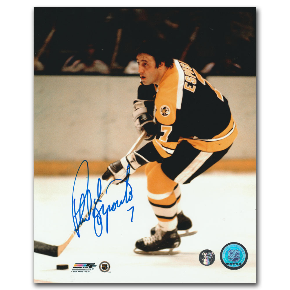 Phil Esposito Autographed Boston Bruins 8X10 Photo