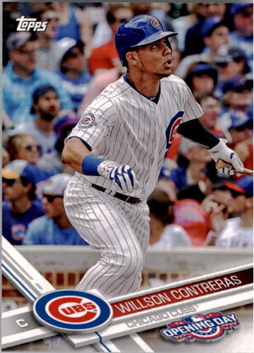 Photo of 2017 Topps Opening Day #66 Willson Contreras