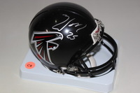 FALCONS - WILLIAM MOORE SIGNED FALCONS MINI HELMET