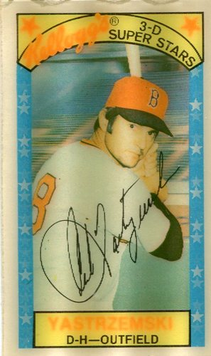 Photo of 1979 Kellogg's #45B Carl Yastrzemski/AB 9929