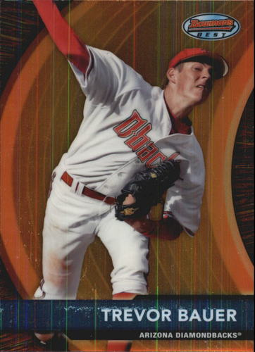 Photo of 2012 Bowman Bowman's Best Prospects #BBP1 Trevor Bauer -- Indians post-season