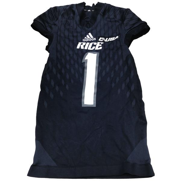 Game-Worn Rice Football Jersey // Navy #22 // Size M