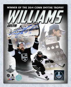 Justin Williams Los Angeles Kings Autographed Collage 8x10 Photo *Washington Capitals*