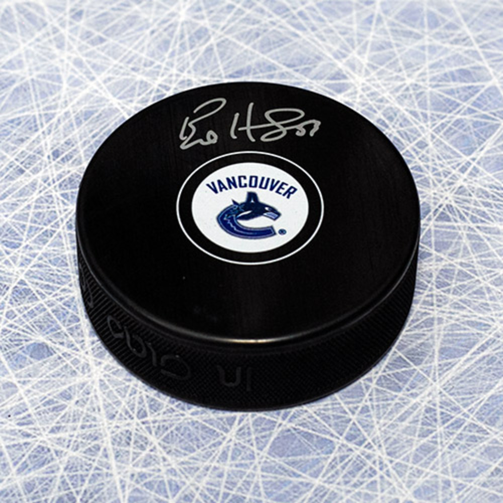 Bo Horvat Vancouver Canucks Autographed Hockey Puck