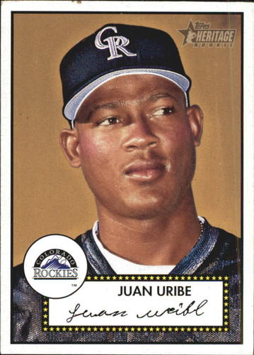 Photo of 2001 Topps Heritage #246 Juan Uribe RC