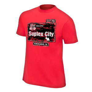Wwe shop express brock lesnar suplex city chicago for T shirts with city names
