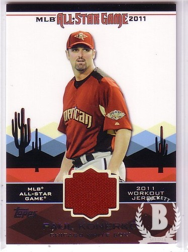 Photo of 2011 Topps Update All-Star Stitches #AS28 Paul Konerko