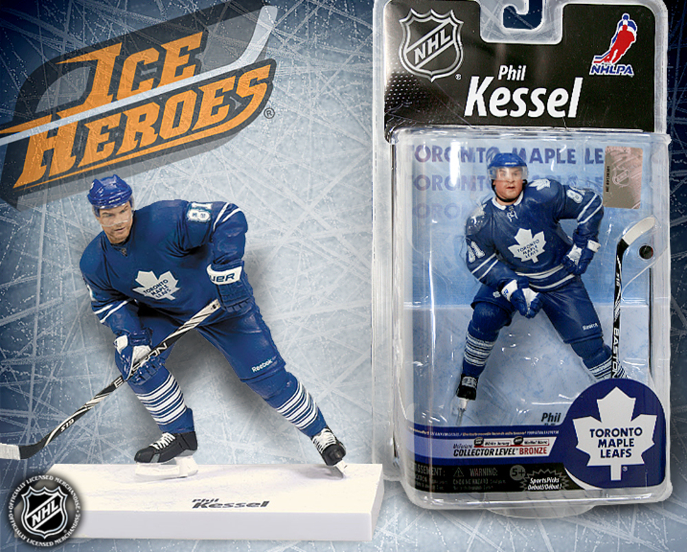 PHIL KESSEL McFarlane Series 25 Action Figure - MIB - Toronto Maple Leafs