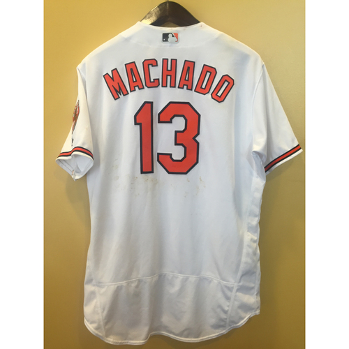 Photo of Manny Machado - HR Jersey: Game-Used