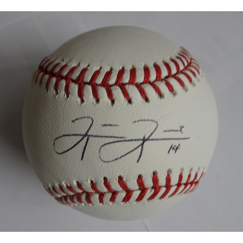 Photo of Rio Ruiz Autographed Baseball