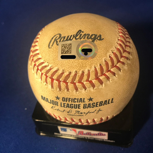 Photo of UMPS CARE AUCTION: Baltimore Orioles Game-Ready Opening Day Baseball Signed by Umpire Crew