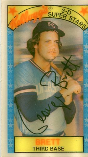 Photo of 1979 Kellogg's #50 George Brett