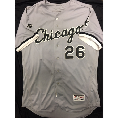 Photo of Avisail Garcia 2016 Game-Used Grey Road Jersey - Size 50