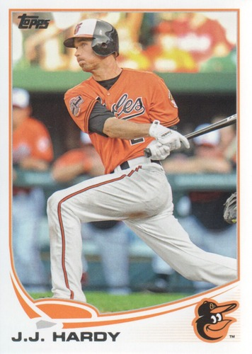 Photo of 2013 Topps #533 J.J. Hardy