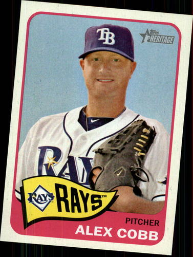 Photo of 2014 Topps Heritage #367 Alex Cobb
