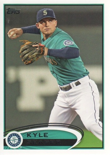 Photo of 2012 Topps #645 Kyle Seager