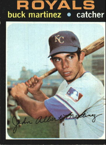 Photo of 1971 Topps #163 Buck Martinez