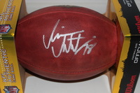 NFL - RAVENS RONNIE STANLEY SIGNED AUTHENTIC FOOTBALL