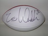 CHARGERS - ERIC WEDDLE SIGNED PANEL BALL