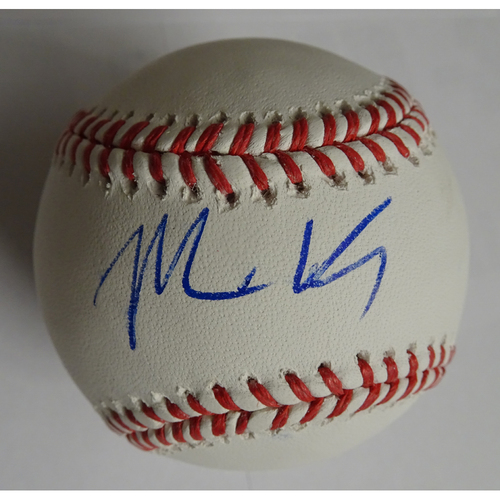 Photo of Matt Kemp Autographed Baseball