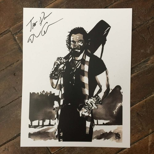 Photo of Elias Samson SIGNED 11 x 14 Rob Schamberger Print