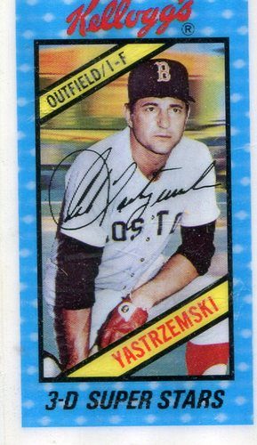 Photo of 1980 Kellogg's #27 Carl Yastrzemski