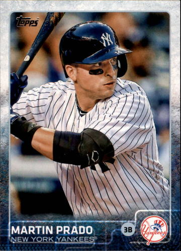 Photo of 2015 Topps #302A Martin Prado