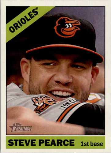Photo of 2015 Topps Heritage #115 Steve Pearce