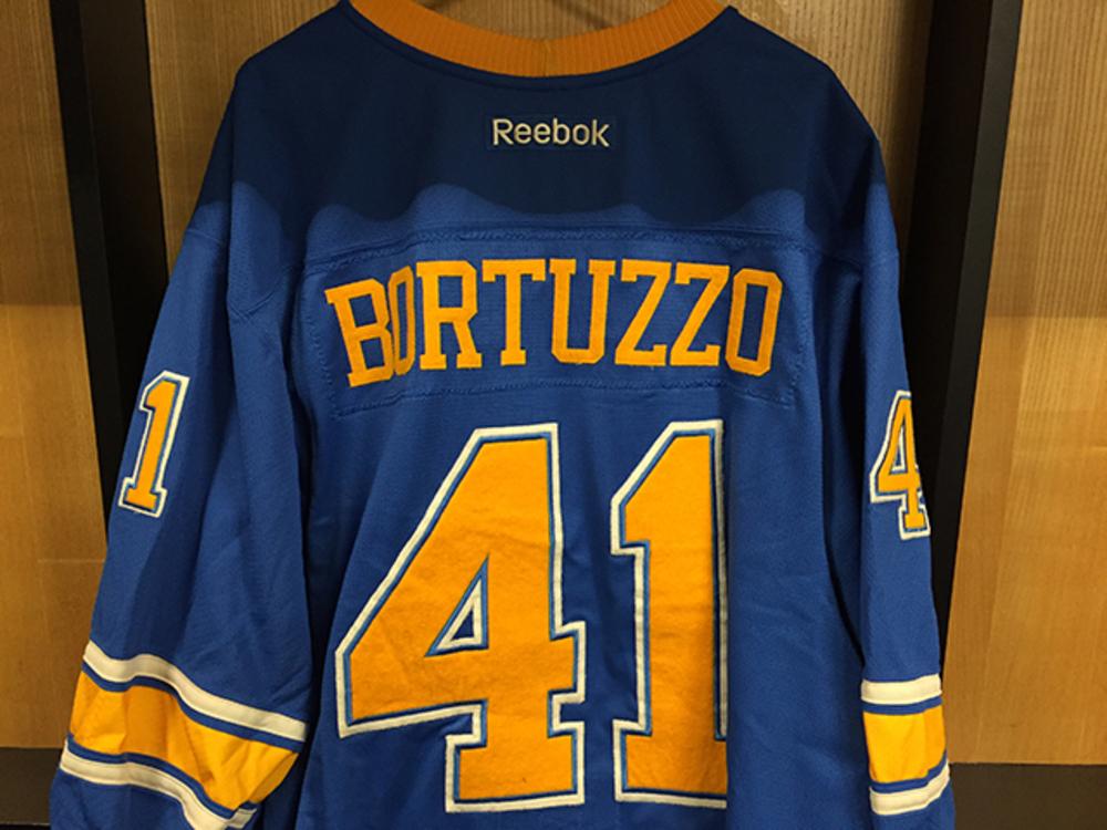Robert Bortuzzo Winter Classic Jersey