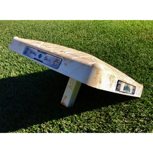 Photo of Mariners vs. Marlins Game-Used Base Used 4/19/2017
