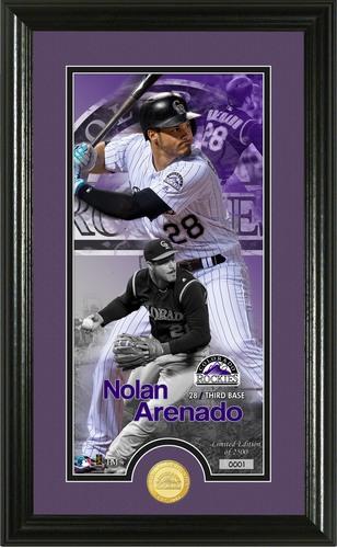 Photo of Serial #1! Nolan Arenado Supreme Bronze Coin Photo Mint