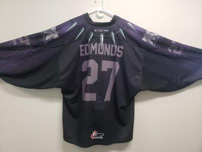 #27 Kai Edmonds Game Worn Superhero Jersey