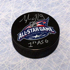Tyler Johnson Autographed 2015 All Star Hockey Puck *Tampa Bay Lightning*
