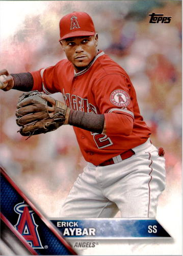 Photo of 2016 Topps #159 Erick Aybar