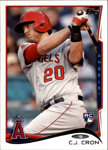 Photo of 2014 Topps Update #US149 C.J. Cron RC