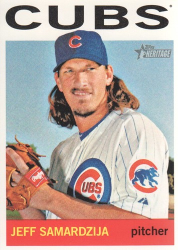 Photo of 2013 Topps Heritage #96 Jeff Samardzija