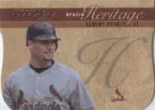Photo of 2005 Studio Heritage Die Cut Gold #4 Albert Pujols