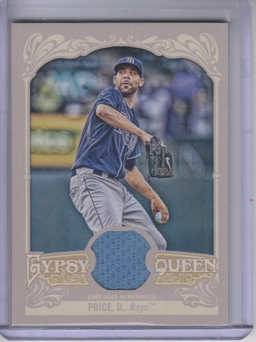 Photo of 2012 Topps Gypsy Queen Relics #DPR David Price