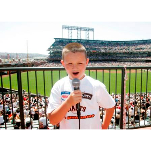 Photo of Giants End of Year Auction: 10/1/2016 Junior Announcer Experience