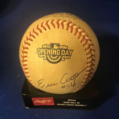 Photo of UMPS CARE AUCTION: Colorado Rockies Opening Day Baseball Signed by Umpire Crew