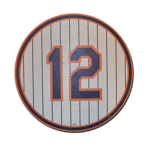 Photo of Ron Darling #12 - 1986 Ceremony Number Plate - Mets vs. Dodgers - 5/28/16