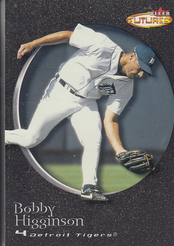 Photo of 2001 Fleer Futures Black Gold #132 Bobby Higginson